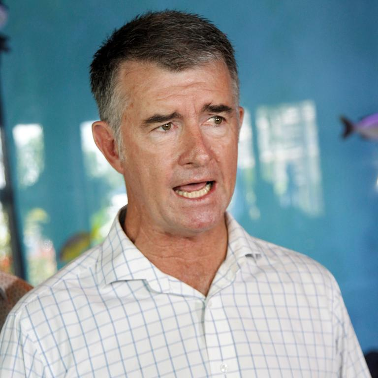Deputy LNP leader Tim Mander said it was necessary to give Queensland businesses certainty. Picture: PETER CARRUTHERS