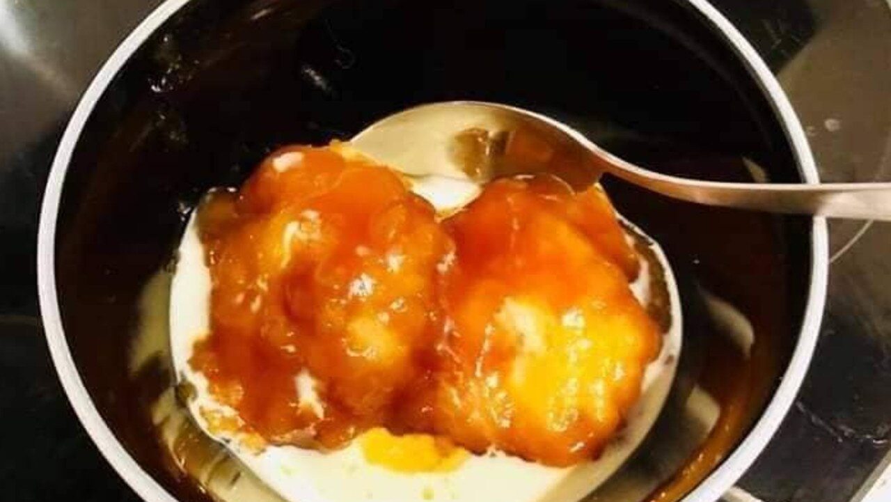 The dessert is an utter breeze to make thanks to the slow cooker. Picture: Facebook.