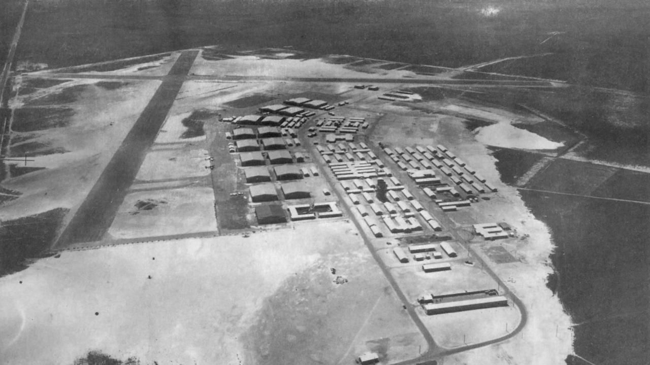 Historical pic of Evans Head Aerodrome. PICTURE: Northern Star ARCHIVES