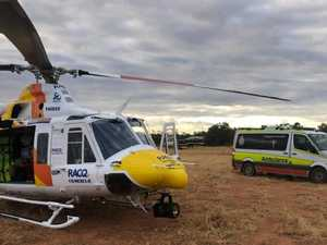 Chopper crew rescues sick grazier trapped on rural property