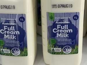 Warning over Aussie fresh milk supply