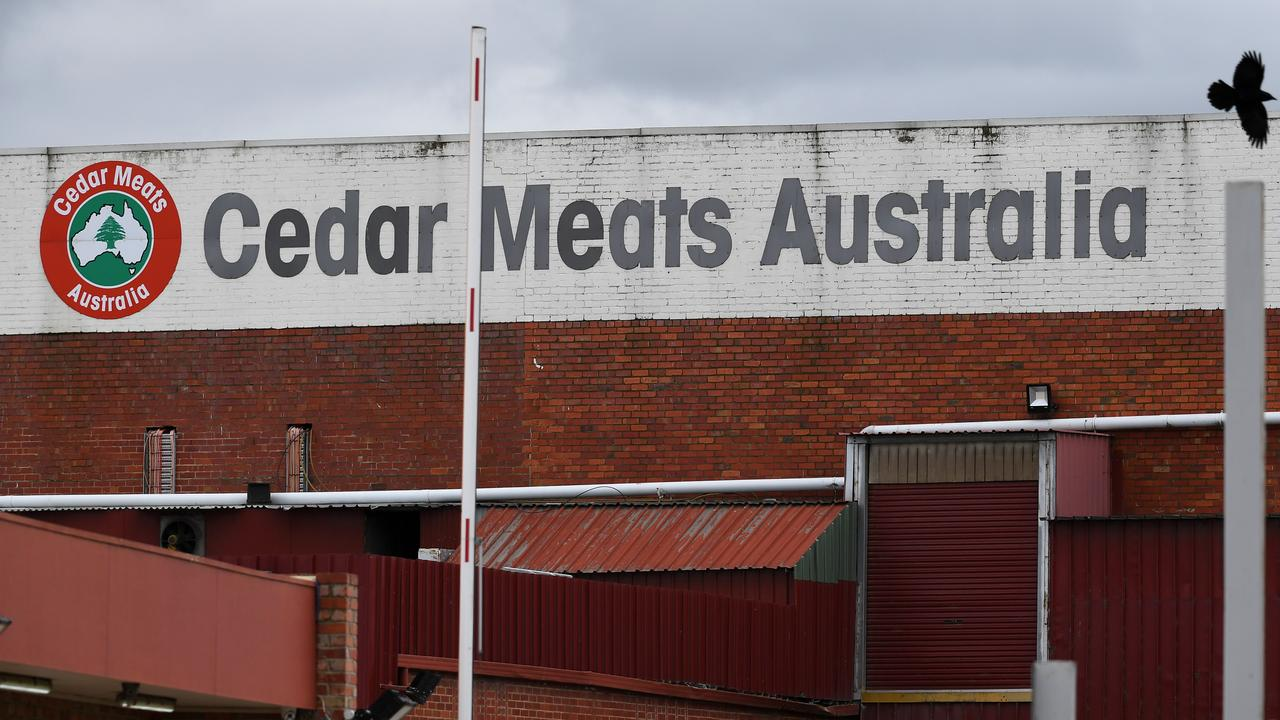 There are fears the Cedar Meats COVID-19 outbreak could have spread COVID-19 between abattoirs.