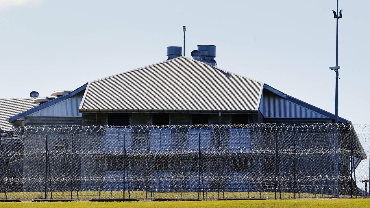 Police are investigating after a prisoner died at a jail, with the man's body found in a laundry.