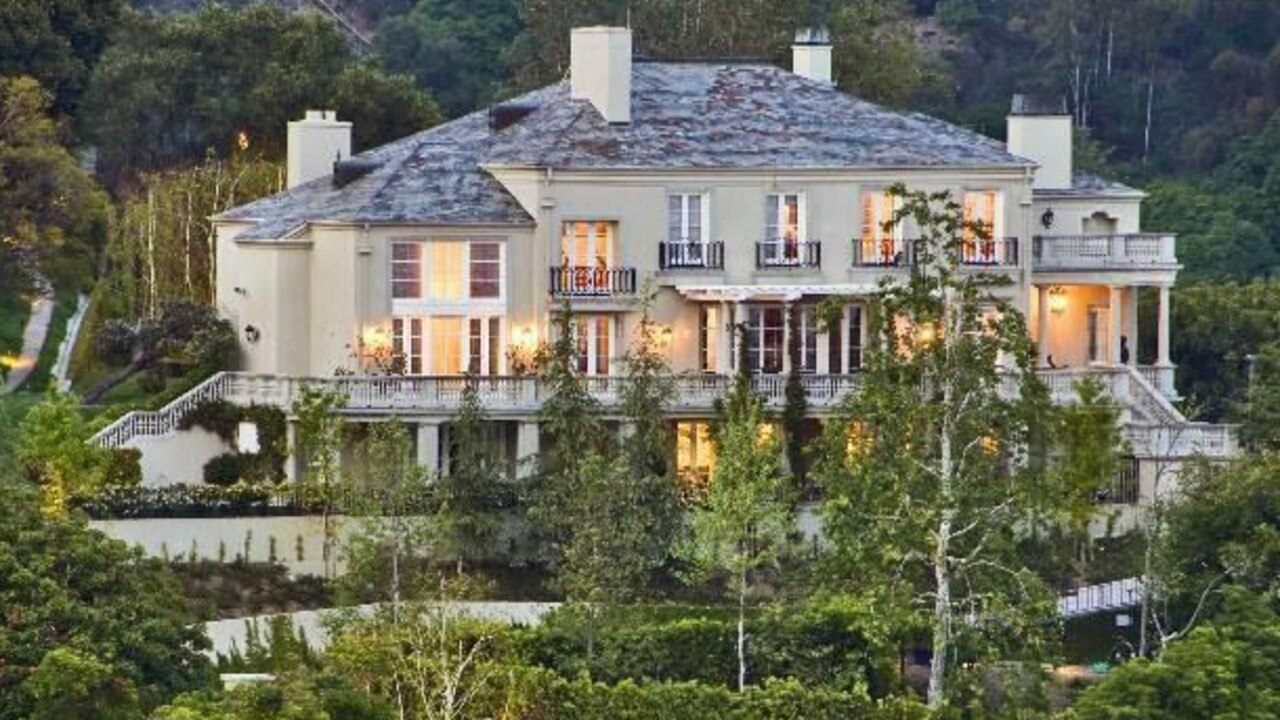 Musk's LA home that is now on the market for $US 30 million. Picture: Realtor