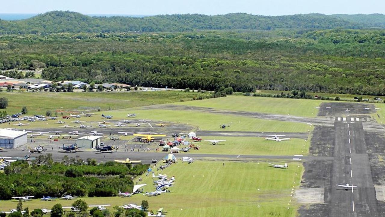 Evans Head aerodrome.