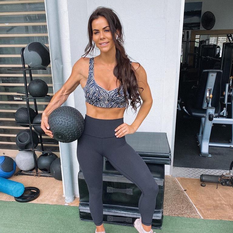Fitness Instagram star Sophie Guidolin.