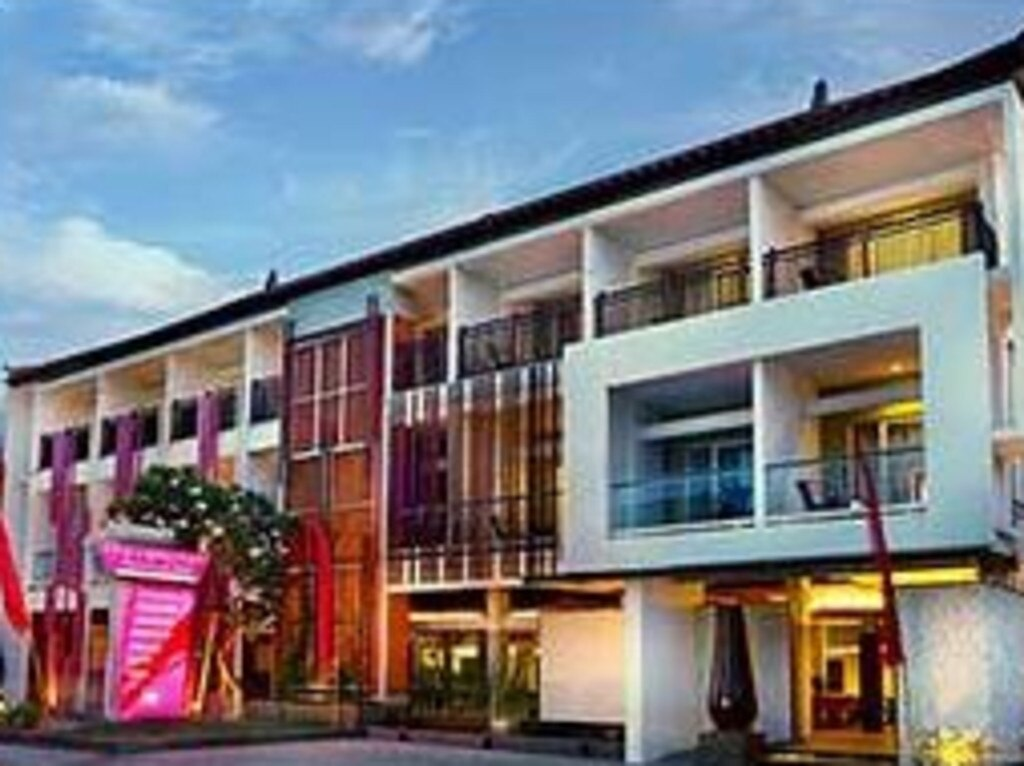 The Sydney man was staying at the popular Fave Hotel in Seminyak. Picture: Supplied