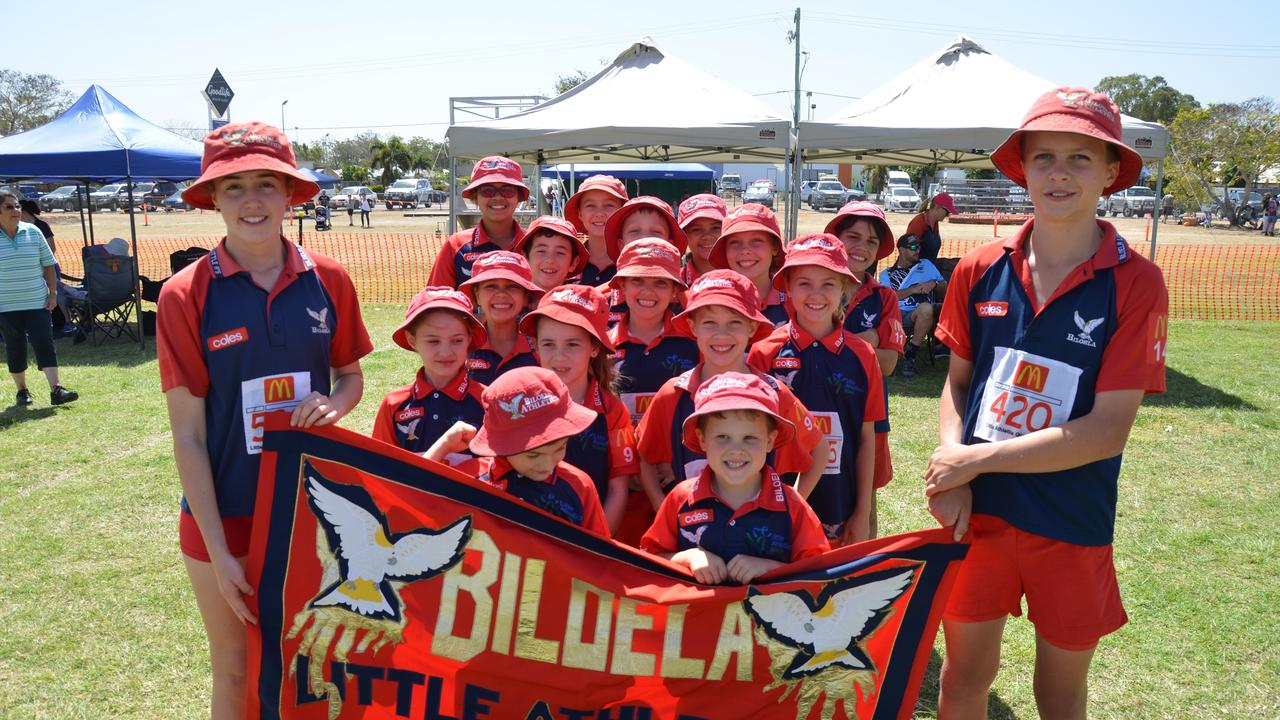 KEEN AS: The Biloela Little Athletics Club is excited to see when they can get back on the track.
