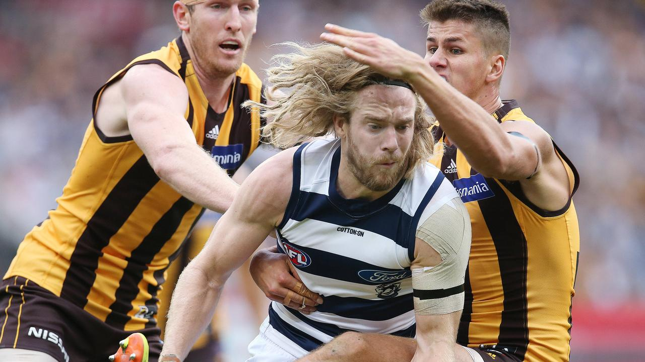 Hawthorn and Geelong games rarely disappoint and have become a fixture of Easter Monday.