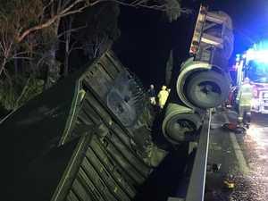 UPDATE: Bruce Highway reopens after fatal truck crash