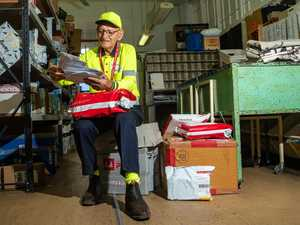 How this postie goes above and beyond on his mail run