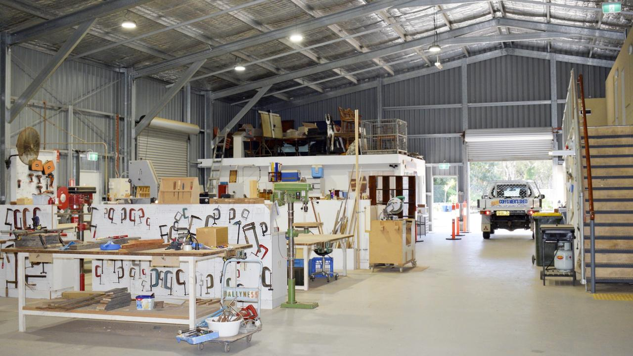 The Men's Shed has received a $50,000 grant to undertake important upgrades.