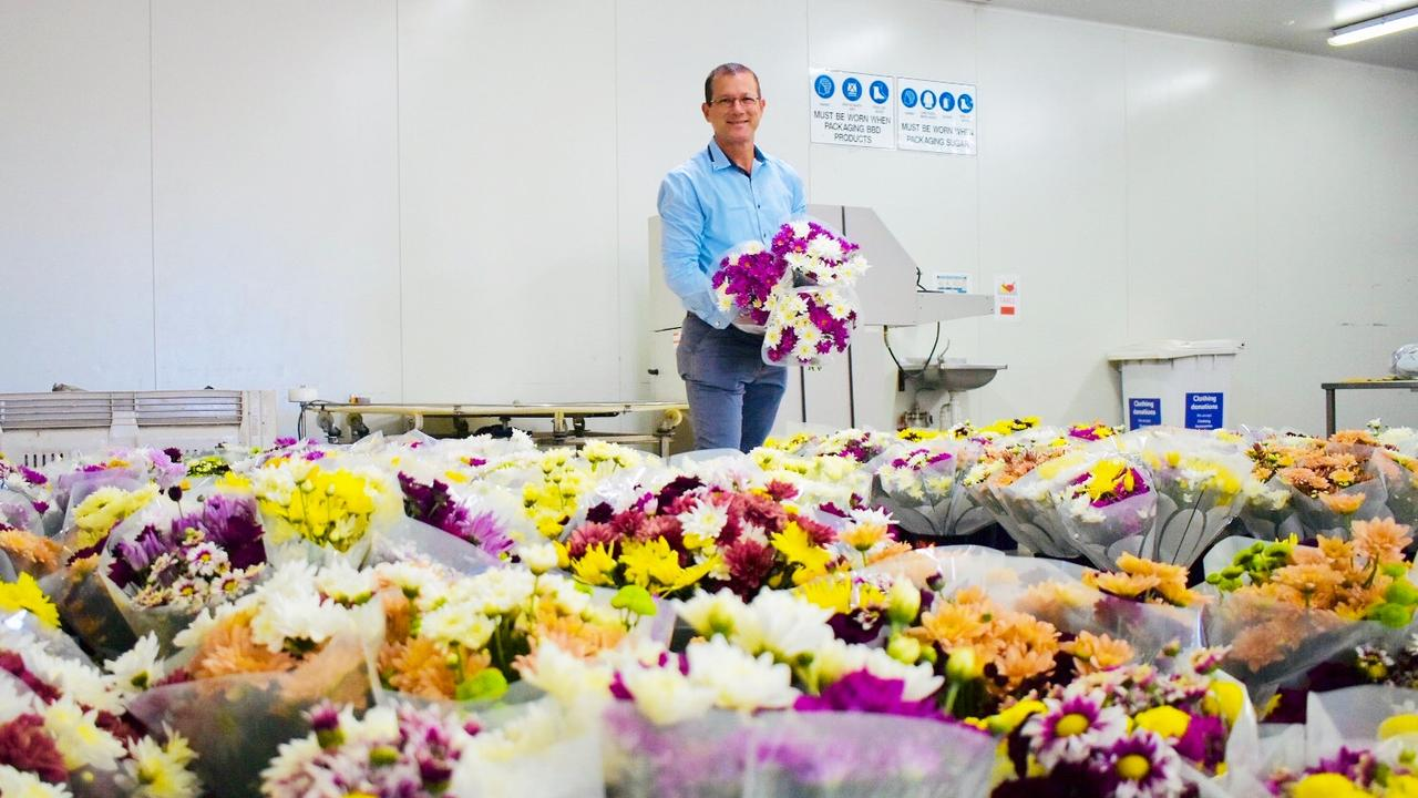 BRIGHT SIDE: While COVID-19 restrictions meant David Batt had to alter his annual tradition, it hasn't stopped him from wishing aged-care residents a happy Mother's Day.