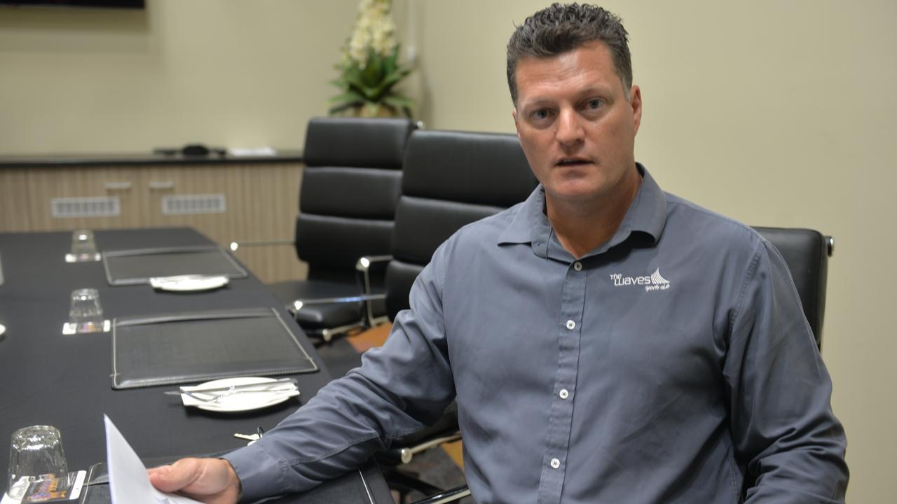 The Waves Sports Club CEO Brendan Royall.