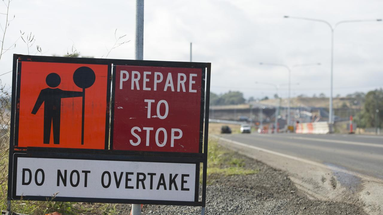 LONG ROAD TO COMPLETION: Roadworks continue on the Warrego Hwy.