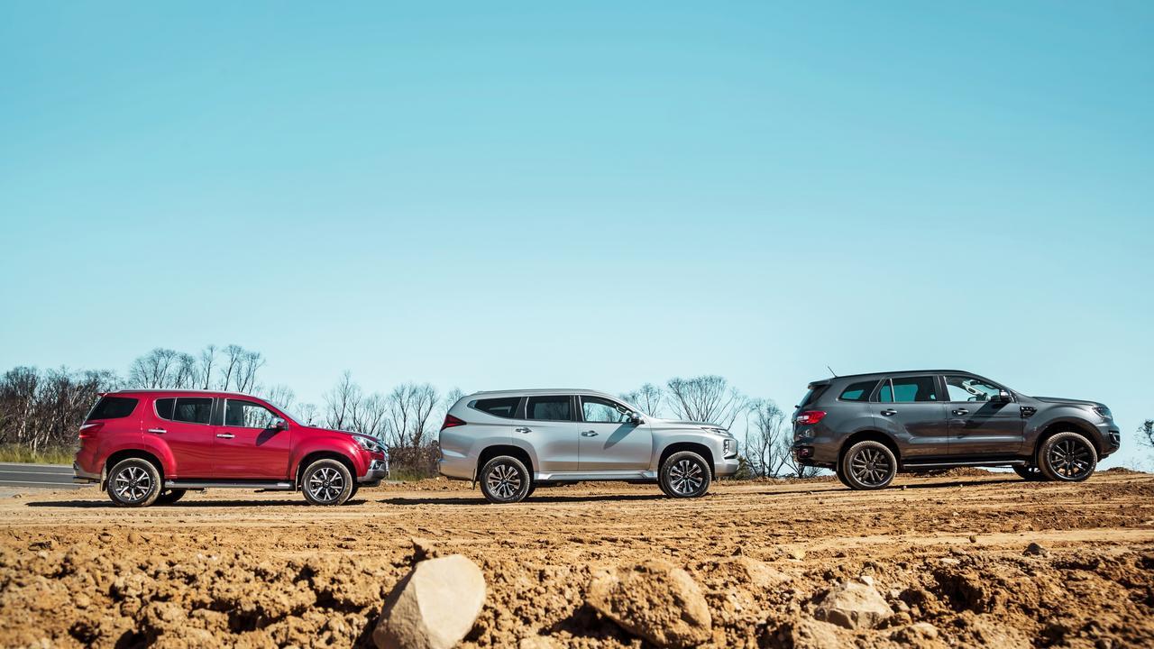 All three cars are big units. Photo by Thomas Wielecki.
