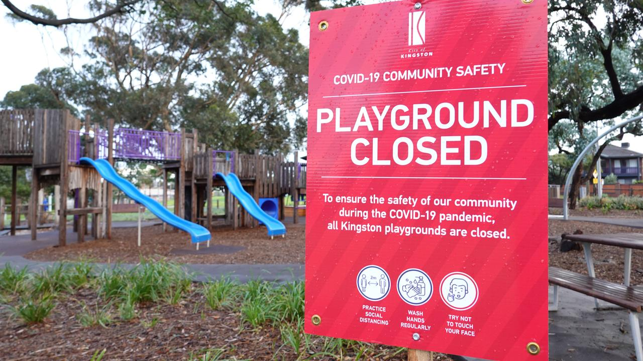 A playground in Mordialloc. Picture: Michael Dodge/AAP