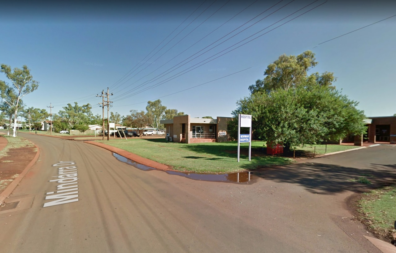 Newman Hospital in Western Australia. Picture: Google Maps
