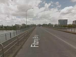 Vehicle 'significantly damaged' in bridge crash