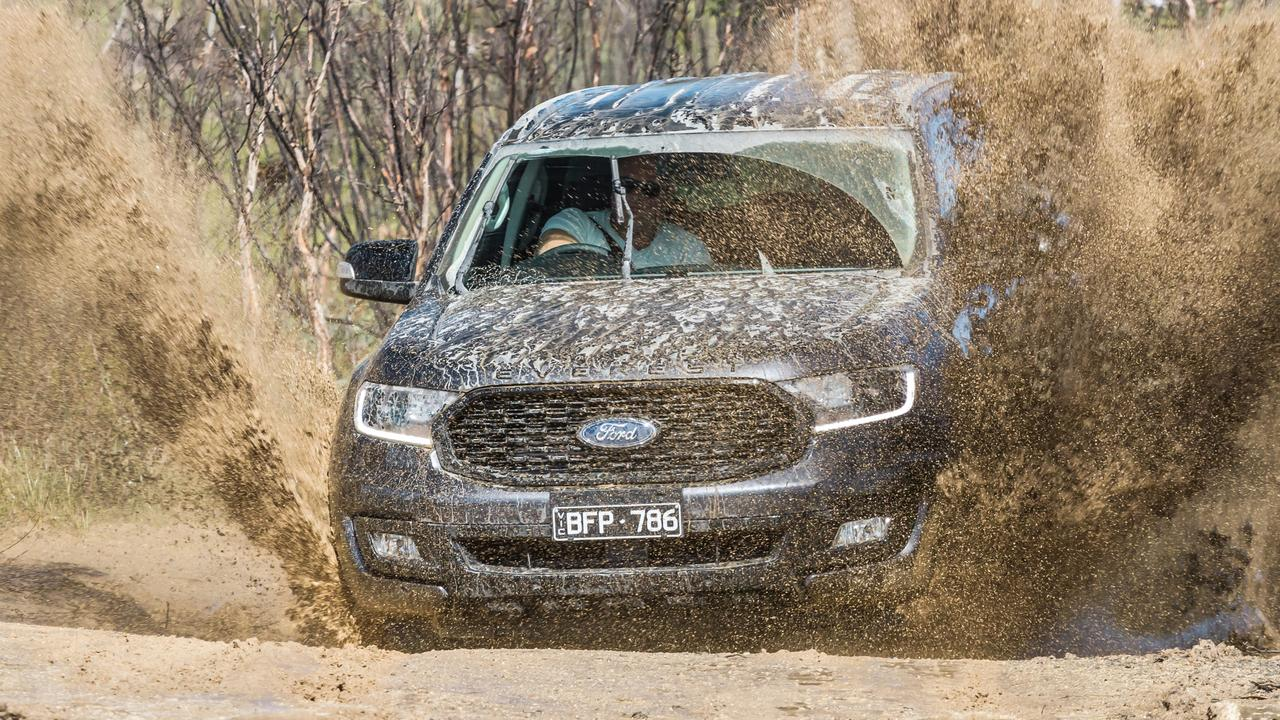 The Ford Everest is the best to drive on the rod by a wide margin. Photo by Thomas Wielecki.
