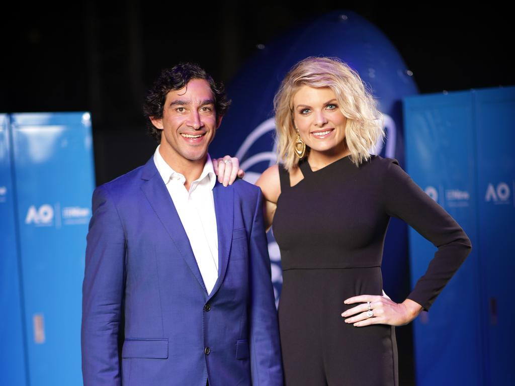 Johnathan Thurston and Erin Molan.
