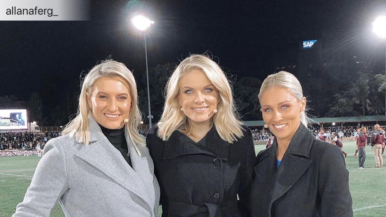 Erin Molan instagram posts. https://www.instagram.com/erin_molan/