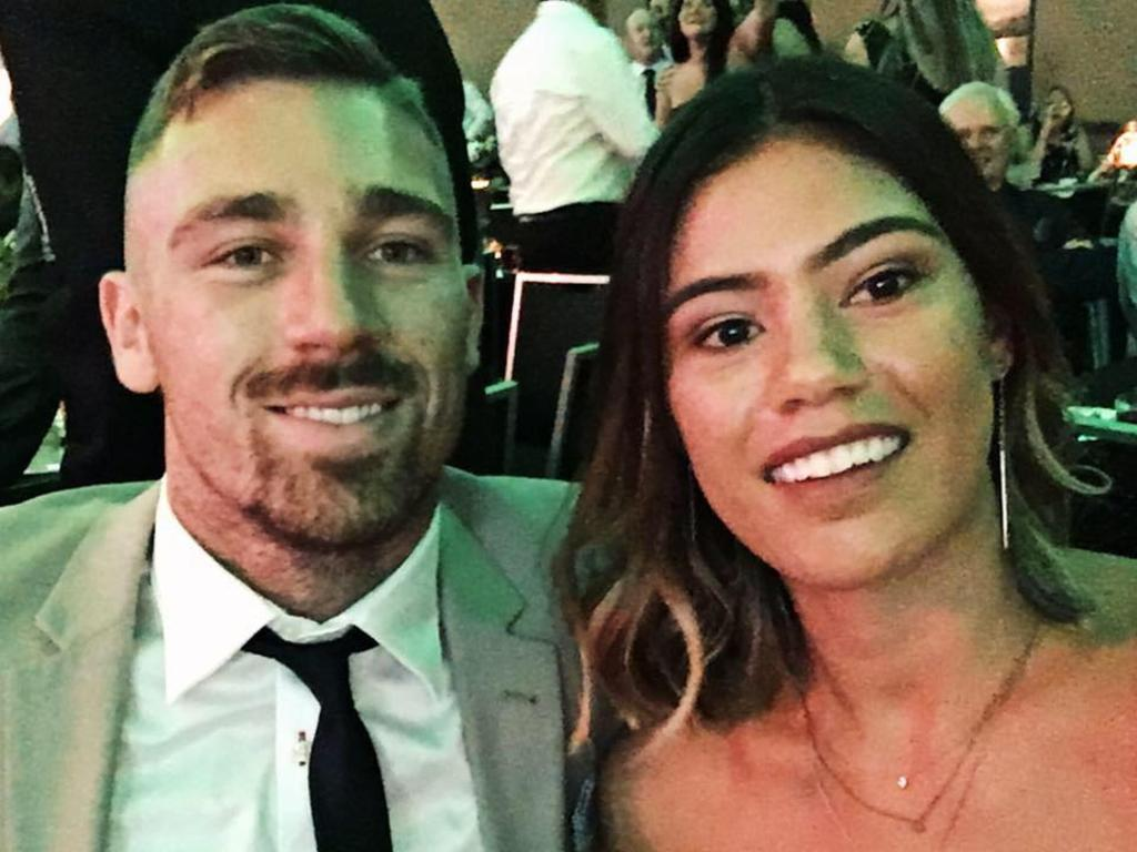 Facebook image of Shanelle Peeti, partner of Penrith Panthers Rugby League star, Bryce Cartwright