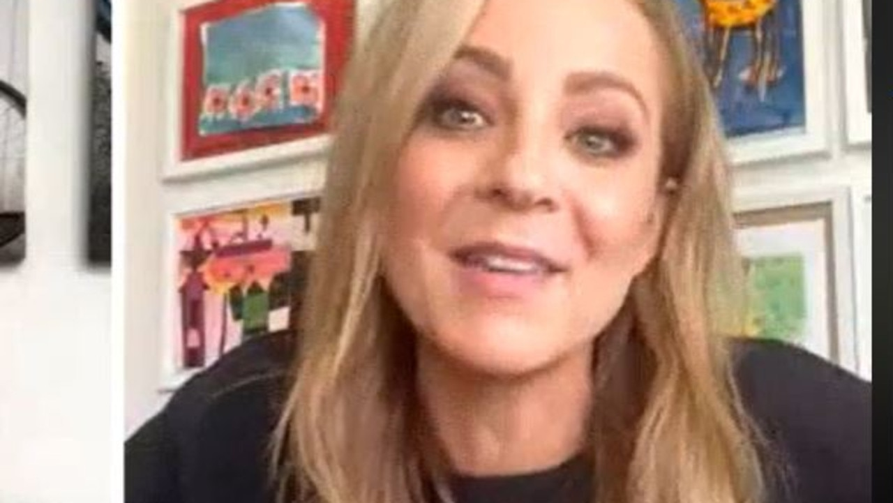 Carrie Bickmore speaks to news.com.au. Picture: Facebook.