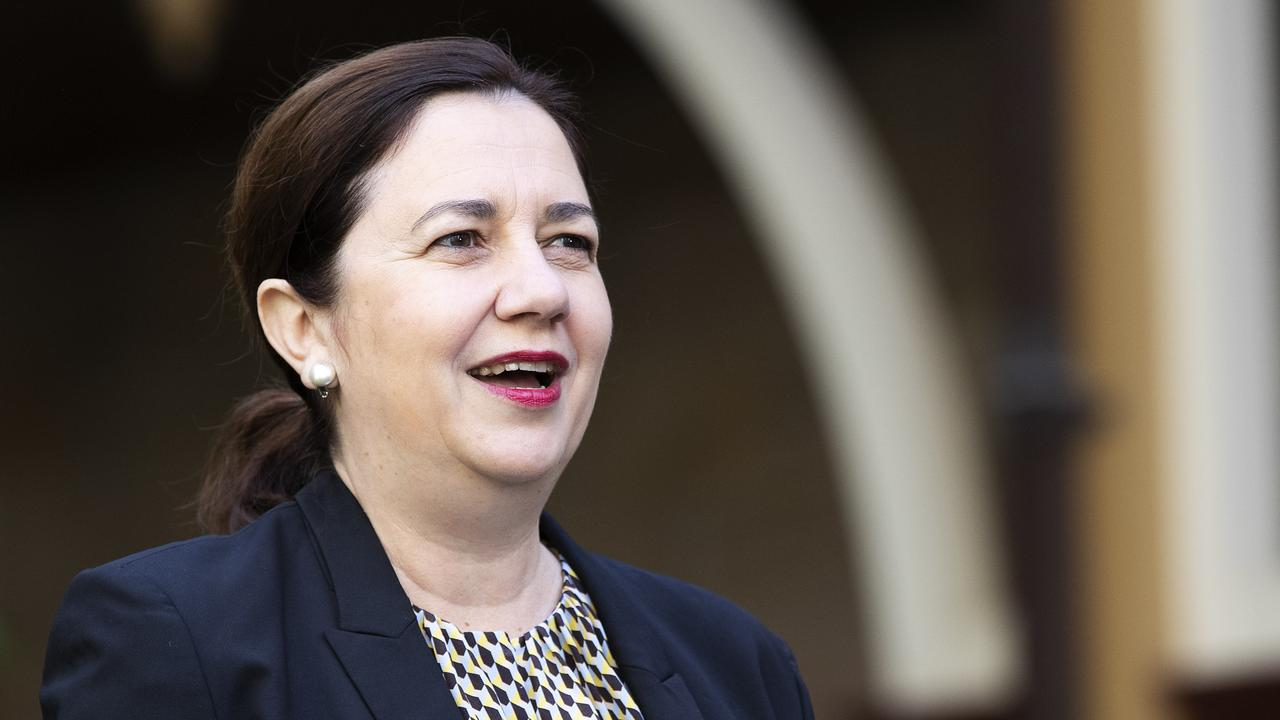 Premier Annastacia Palaszczuk is under pressure to release a coronavirus recovery road map for Queensland's businesses. Picture: Attila Csaszar