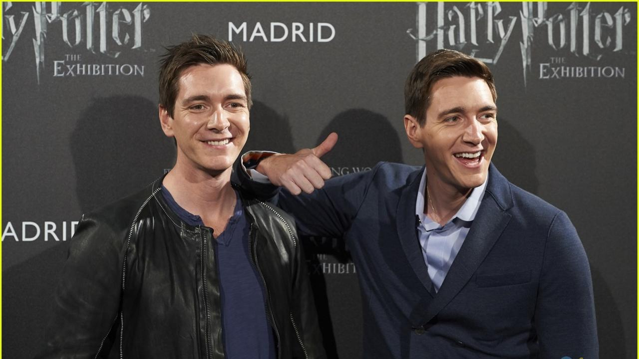 WORLD OF WIZARDRY: James and Oliver Phelps played Fred and George Weasley in the eight Harry Potter films and will be visiting Bundaberg later this year.