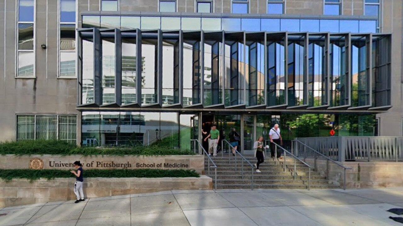 University of Pittsburgh's School of Medicine where Prof Liu worked. Picture: Google Maps