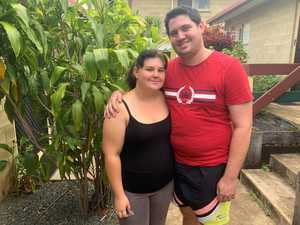 LUCK STEPPED IN: Mount Morgan couple, renters Michael