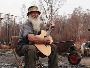 Songs and stories emerge from the ashes
