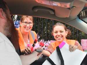 Mother's Day drive-through a massive success