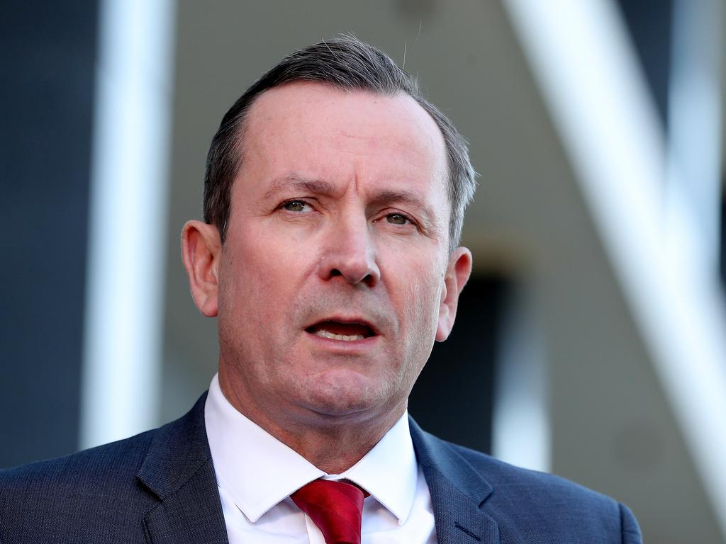 Western Australia Premier Mark McGowan. Picture: AAP
