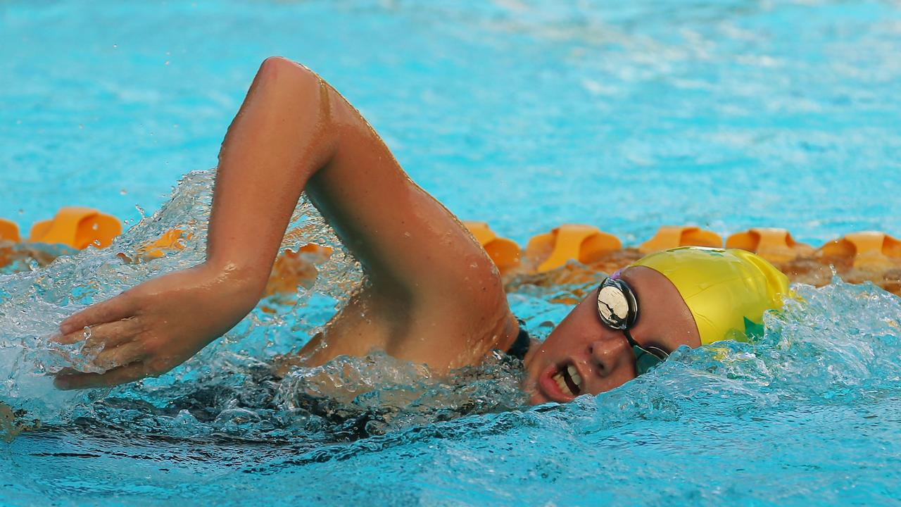 Far North swimmers, like young star Tara Olds, could be back in the pool in the very near future. PICTURE: BRENDAN RADKE