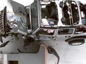 WATCH: Shock crash test fail for popular SUV