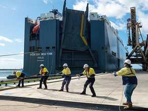 Record breaking imports, exports at Mackay port