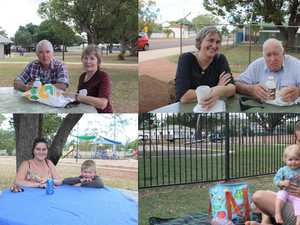Residents take to the park as things begin to 'lighten' up