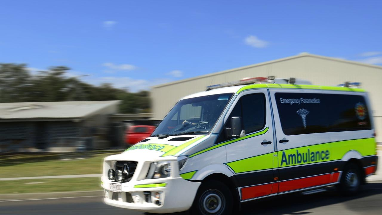 A young girl has been taken to Queensland Children's Hospital with serious injuries after being struck by a truck.
