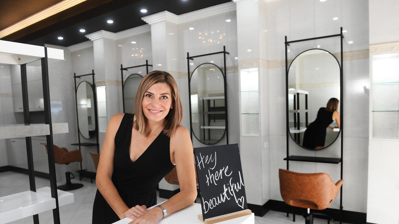 Kaylie Harman-Gibb from Elan Hair Co. opened her salon in Ellenborough Street.