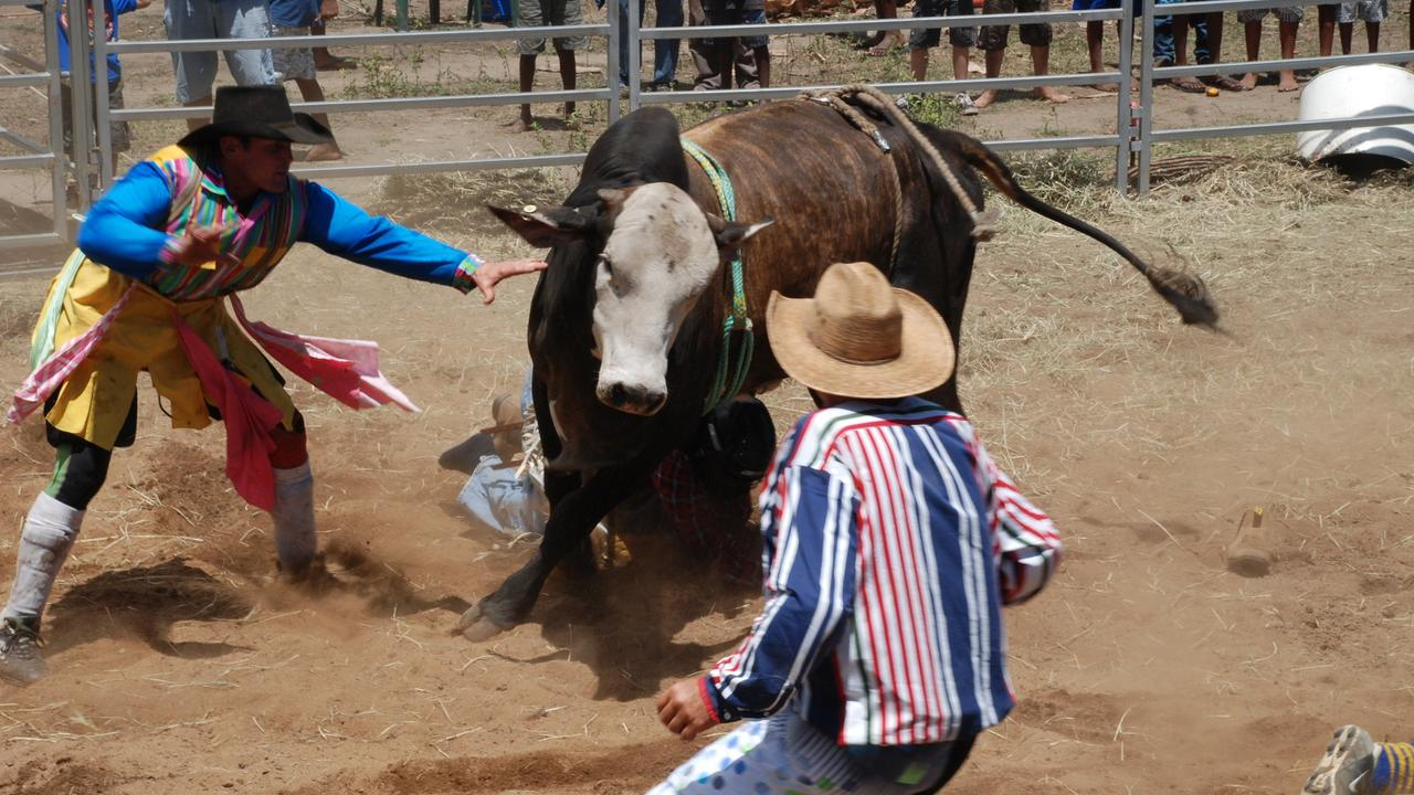 Clermont Rodeo and Show Society president Jan Burnett said new funds would allow the two-year Showgrounds' Master Plan to be completed within months. Photo: John Andersen