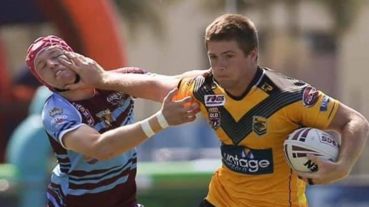 New Gympie Devils signing Jake Egan, who comes to the club with experience in the Sunshine Coast Falcons squad.