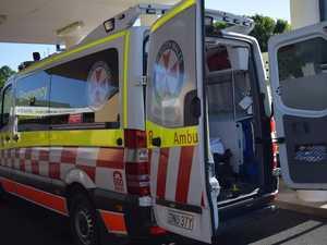 Police officer hospitalised after crash in Tweed
