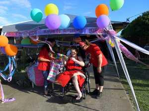 PICS: Tori celebrates her eighteenth birthday in style