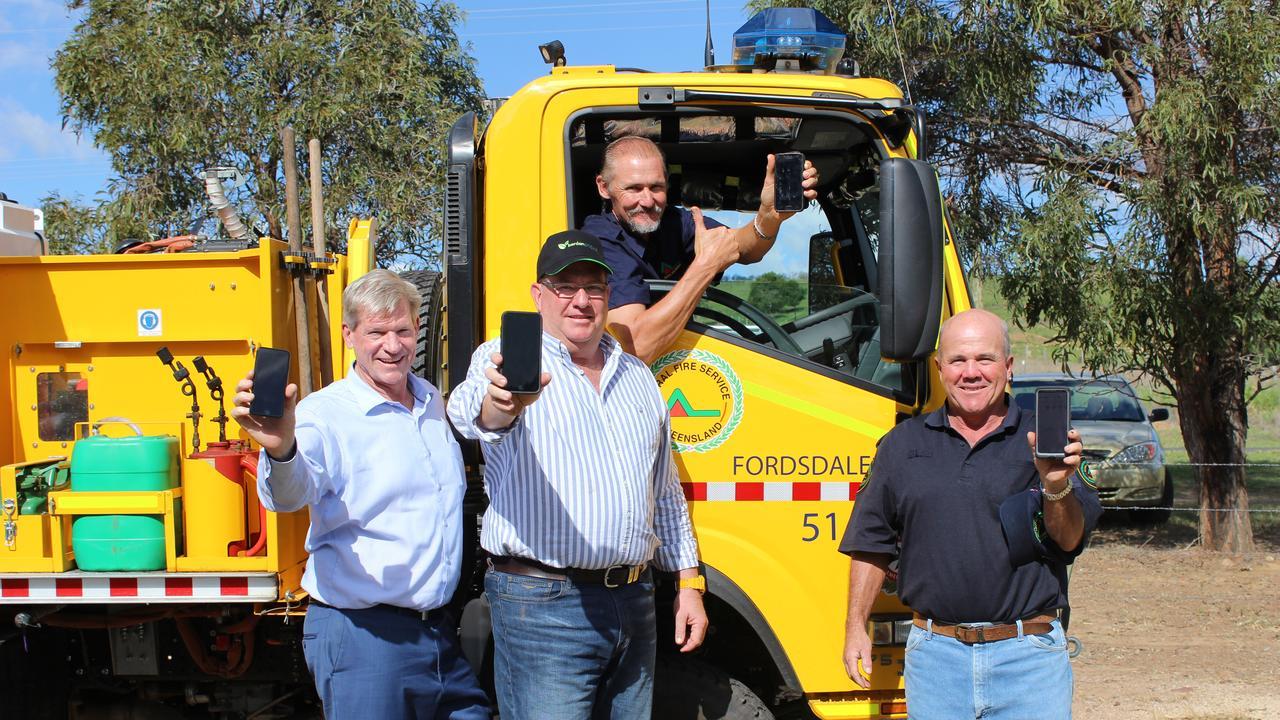 Jim McDonald MP, Scott Buchholz MP, Eddie Cole, and Wayne Scholl (file photo, 2019)