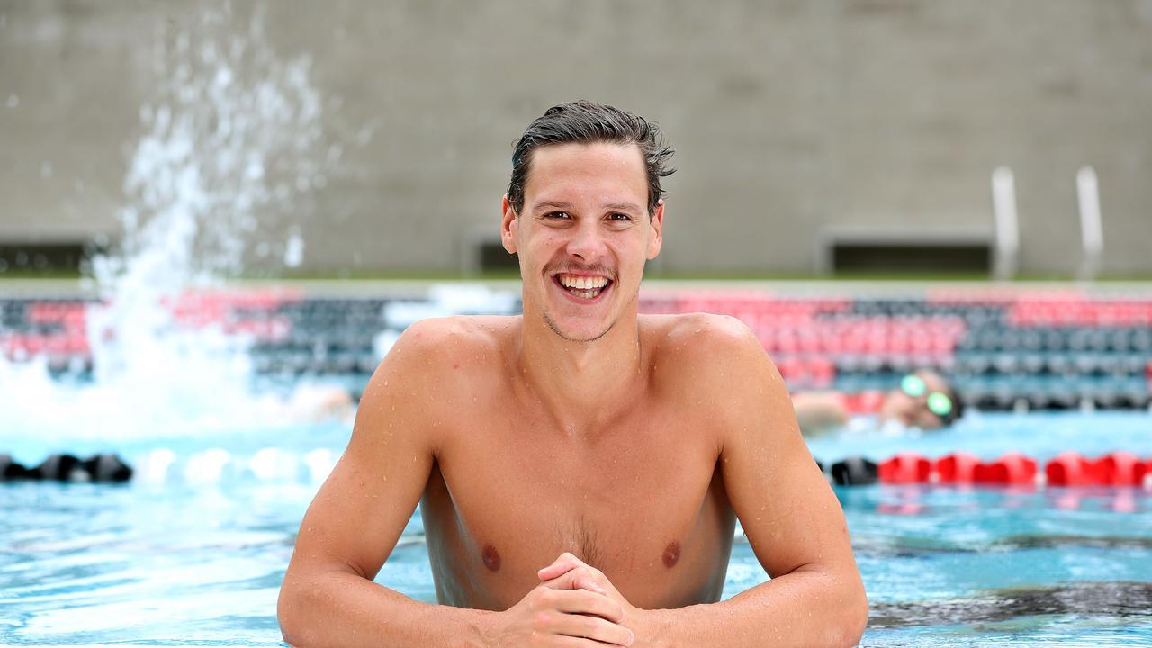 St Peters swimmer Mitch Larkin. Pics Tara Croser.