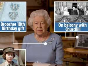 Here's the meaning of the items seen in the Queen's address
