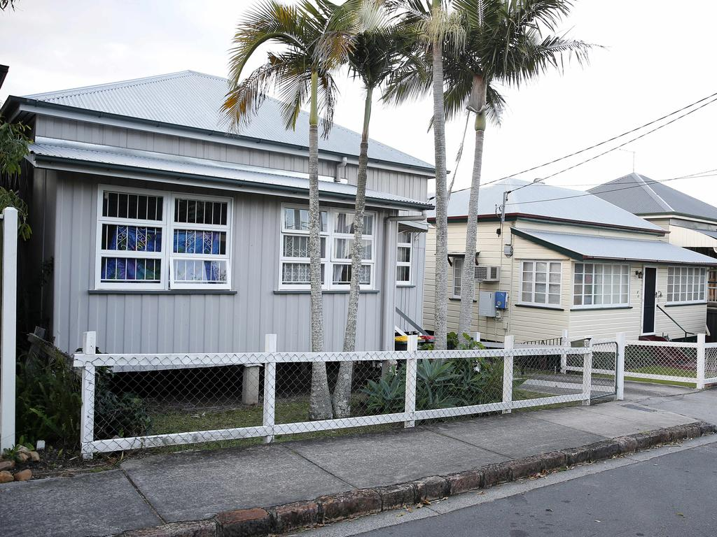 The Woolloongabba home purchased by Deputy Premier Jackie Trad. (AAP Image/Josh Woning)