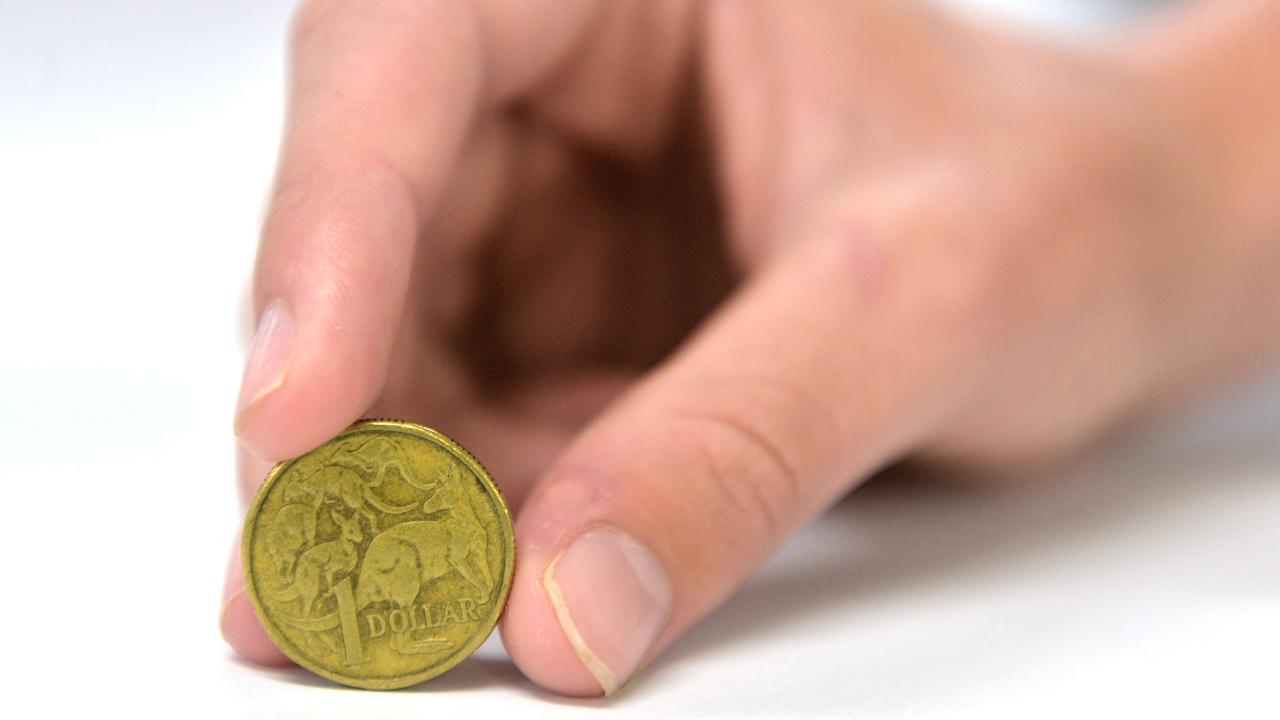 $1 - one dollar coin
